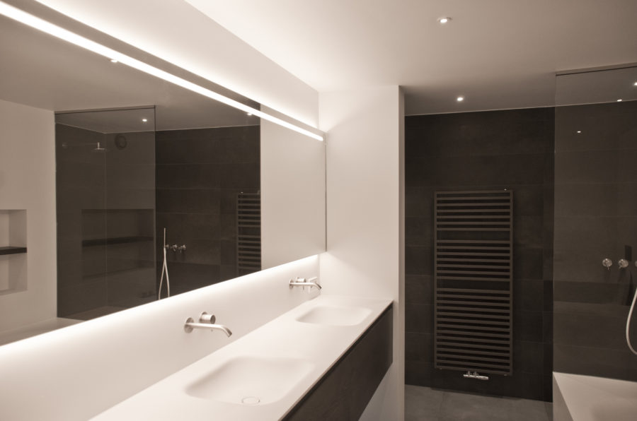 verbouwing badkamer villa
